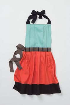 """Cute for kiddos who love to """"play kitchen"""", like mine!!! Cuisine Couture Kids Apron 
