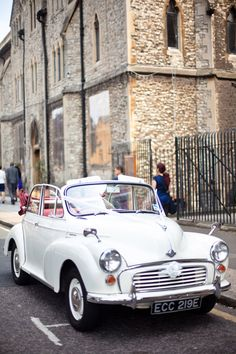 Morris Minor Convertible I owned one...before it was stolen in Chelsea! We have one! It needs major restoration!