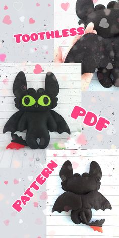 Felt Crafts Patterns, Pdf Sewing Patterns, Handmade Toys, Etsy Handmade, Cartoon Dragon, Dragon Pattern, Plush Pattern, Etsy Business, Etsy Crafts