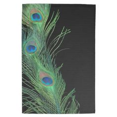 Choose from a variety of Green kitchen towels from Zazzle. Shop now for custom kitchen towels & more! Peacock Bathroom, Black Towels, Kitchen Hand Towels, Green Kitchen, My New Room, Tea Towels, Feathers, Dish Towels, Feather