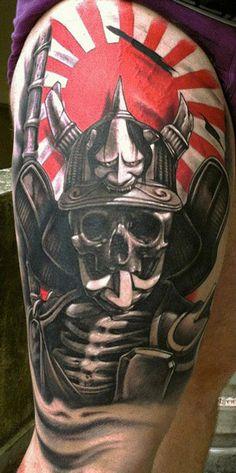 Tattoo Artist - George Mavridis | www.worldtattoogallery.com/black-and-red-tattoo