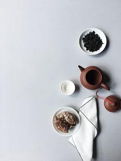 Tea Pairing: Oolong tea + Doughnut Plant Creme Brulee doughnut