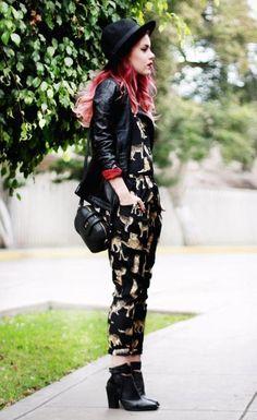 #fashion #style #print #hat