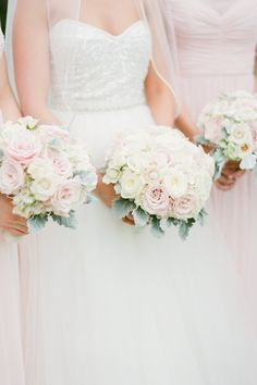 Rose wedding bouquets