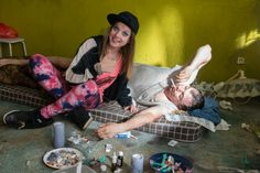 Filmszene aus Fack ju Göhte - Chantal (Jella Haase)