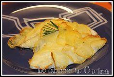 Branzino (Spigola) in Crosta di Patate