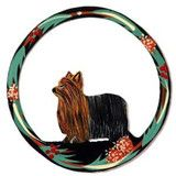 Hand Painted Dog Christmas Ornament - Yorkie!!! @Mary Powers Waggle