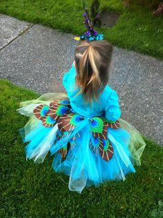 ...: Peacock Tutu Costume