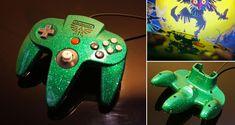 Custom zelda N64 controller by Zoki64.deviantart.com on @deviantART