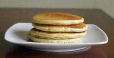 Oat Flour Pancakes on plate