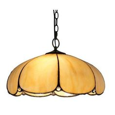 Tiffany Punkin Shape Pendant Lamp Hanging Light Fixture For Bedroom Foyer Dining Room Bar Traditional Country