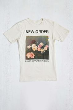 New Order Tee Urban Outfitters