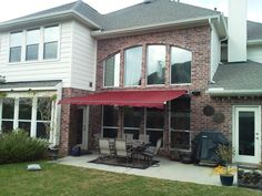 Motorized SunSetter Retractable Awning from DunRite Playgrounds http://www.dunriteplaygrounds.com/store