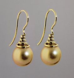 $1,400.00 Shari Turpin south sea pearls in 14 kt gold