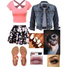 Perfectly pink by samicole on Polyvore featuring polyvore, fashion, style, maurices and Aéropostale