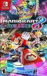 Nintendo Mario Kart 8 Deluxe Video Game for Nintendo Switch 45496590475 Nintendo Mario Kart, Mario Kart 8, Super Nintendo, Nintendo Games, Mario Kart Switch, Xbox Games, Mario Wii, Pokemon Games, Consoles