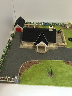 Construction Studies Student House, Project Ideas, Projects, Model Homes, Scale Models, Diorama, Study, Construction, Houses