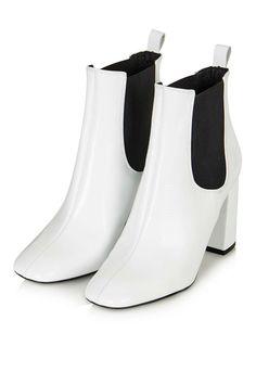 MARIA Flared Heel Chelsea Boots - Topshop USA