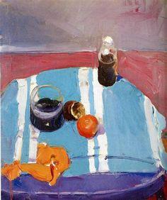Still Life with Orange Peel - Ричард Дибенкорн