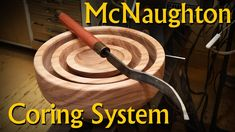 Coring Bowl Blanks with the McNaughton Center Saver System Wood Projects, Projects To Try, Bowl Turning, Woodturning Tools, Lathe, Woodworking, Youtube, Tools For Working Wood, Wood
