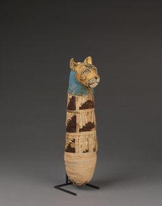 Momie de chat © Musée du Louvre, Dist. RMN-Grand Palais / Christian Decamps