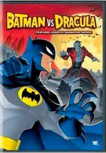 Batman vs. Dracula - feature length animated movie - DVD - DC