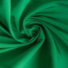 Emerald Solid Silk Faille