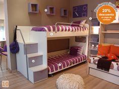 Mueble: habitacion-varones -  AGIOLETTO, Muebles Infantiles, Muebles Juveniles