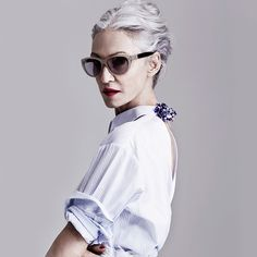 can't wait to grow up to be just like her. Linda Rodin Shares Her Beauty Rules Rodin, Mode Style, Style Me, Retro Mode, Judi Dench, Advanced Style, Advanced Beauty, Ageless Beauty, Karen Walker