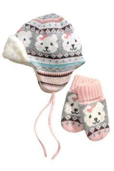 Bonnet et moufles