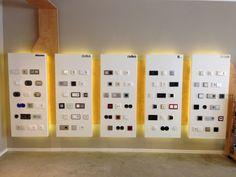 Beautiful design switches by Niko, Berker, Bticino, Jung & Gira