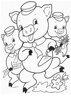 Three Little Pig Coloring Pages Beautiful top 10 Free Printable Three Little Pigs Coloring Pages Farm Coloring Pages, Disney Coloring Pages, Animal Coloring Pages, Coloring Pages To Print, Free Printable Coloring Pages, Coloring Sheets, Coloring Books, Online Coloring, Free Coloring