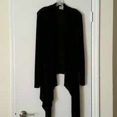 Black cover up Black sheer hi low cover up.... Pretty good Tops