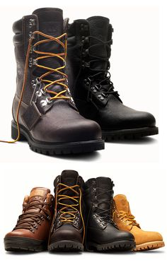 Timberland 40th Anniversary LTD Boot Collection.
