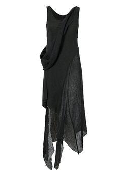 ORIMONO.eu   long linen silk dress