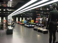 Adidas store interior