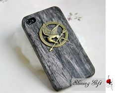 The Hunger Games Mockingjay iPhone case. Sadly I dont have an iPhone. But I would love this!