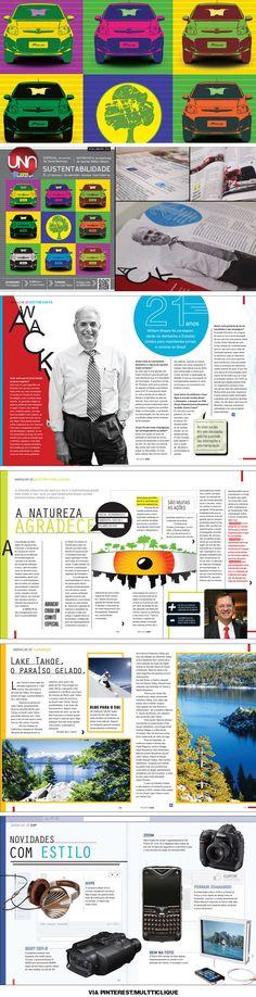 Revista Una 124  Mais uma da Revista Una com preocupação ambiental. Nessa edição matéria especial de sustentabilidade.
