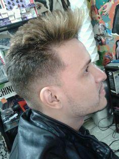 Highlights on a men haircut...