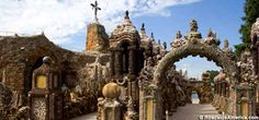 Grotto of the Redemption - shrine built out of precious stones and minerals - West Bend, #Iowa