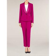 Le Suit Three-Button Pantsuit - Wear to Work - Women - Macy's Tuxedo Jacket, Suit Jacket, Line Jackets, Business Attire, Pajama Set, Work Wear, How To Wear, Outfits, Clothes