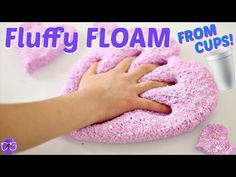 Diy glue stick slime without borax how to make slime with glue learn how to make fluffy floam slime from styrofoam cups no borax liquid starch or detergent is needed to make this fluffy floam slime ccuart Choice Image