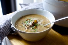 balthazar's cream of mushroom soup – smitten kitchen