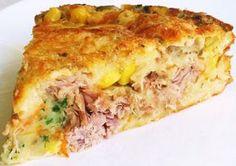 Bora aprender a preparar Torta de atum cremosa? - Aprenda a preparar essa maravilhosa receita de Torta de atum cremosa