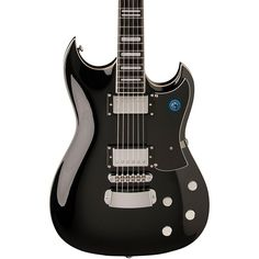 Hagstrom Pat Smear Signature Electric Guitar Gloss Black