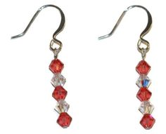 Padparadscha Earrings made with Swarovski Elements EP Laser http://www.amazon.com/dp/B00GZI92H8/ref=cm_sw_r_pi_dp_QF76vb0XPFQ7X