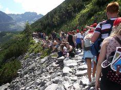 W programie obozów i kolonii w Zakopanem znajdziemy górskie wędrówki po tatrzańskich szlakach. #Zakopane #góry #wakacje #sport