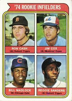 In my last post I pointed out that 5 of the 8 players receiving Rookie of the Year votes were not included in the 1974 Topps set.  I th...