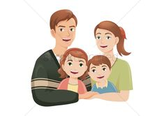 Happy family vector illustration , #spon, #family, #Happy, #illustration, #vector #affiliate Family Vector, Family Drawing, Happy Family, Female Models, Disney Characters, Fictional Characters, Clip Art, Portrait, Drawings