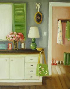 """""""Clover Cottage"""" by Janet Hill"""